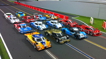 32 Scale slot car racing