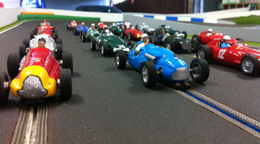 24 Scale slot car racing